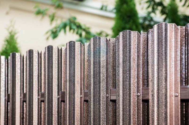 Metal fence 9