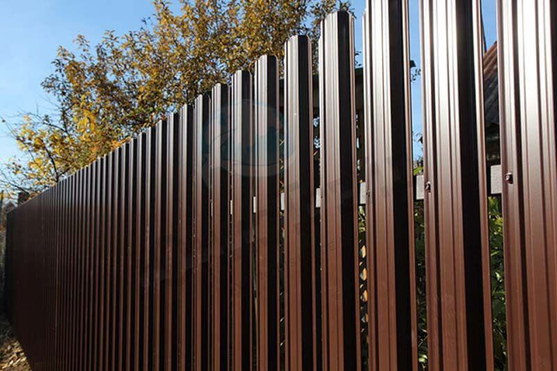 Metal fence 8